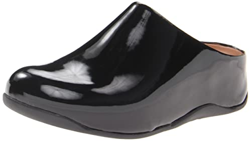 4eb6d96c46e8 Fitflop Women Shuv Patent Clogs  Amazon.co.uk  Shoes   Bags