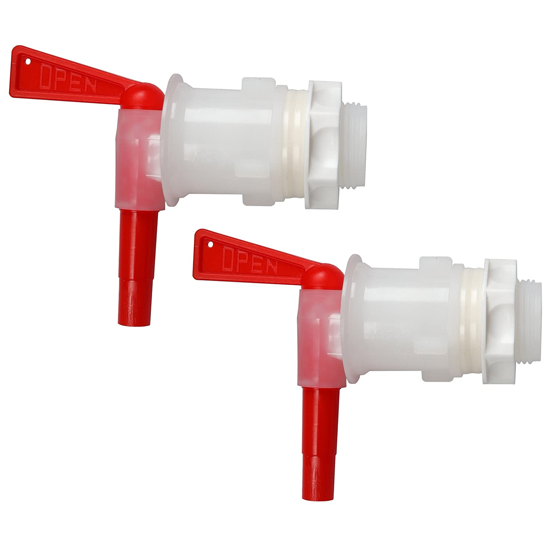 Bottling Spigot,MRbrew Filler Spout Bucket Tap for Bucket Homebrew Wine Making Beer (Red) MBS-522