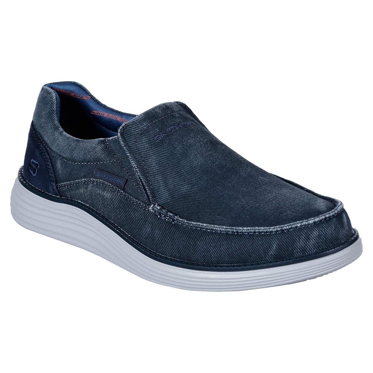 bluee (bluee blue) Skechers Men's's Status 2.0-Mosent Moccasins