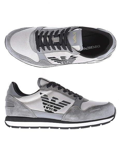 Emporio Armani Runner Uomo Sneaker Grigio