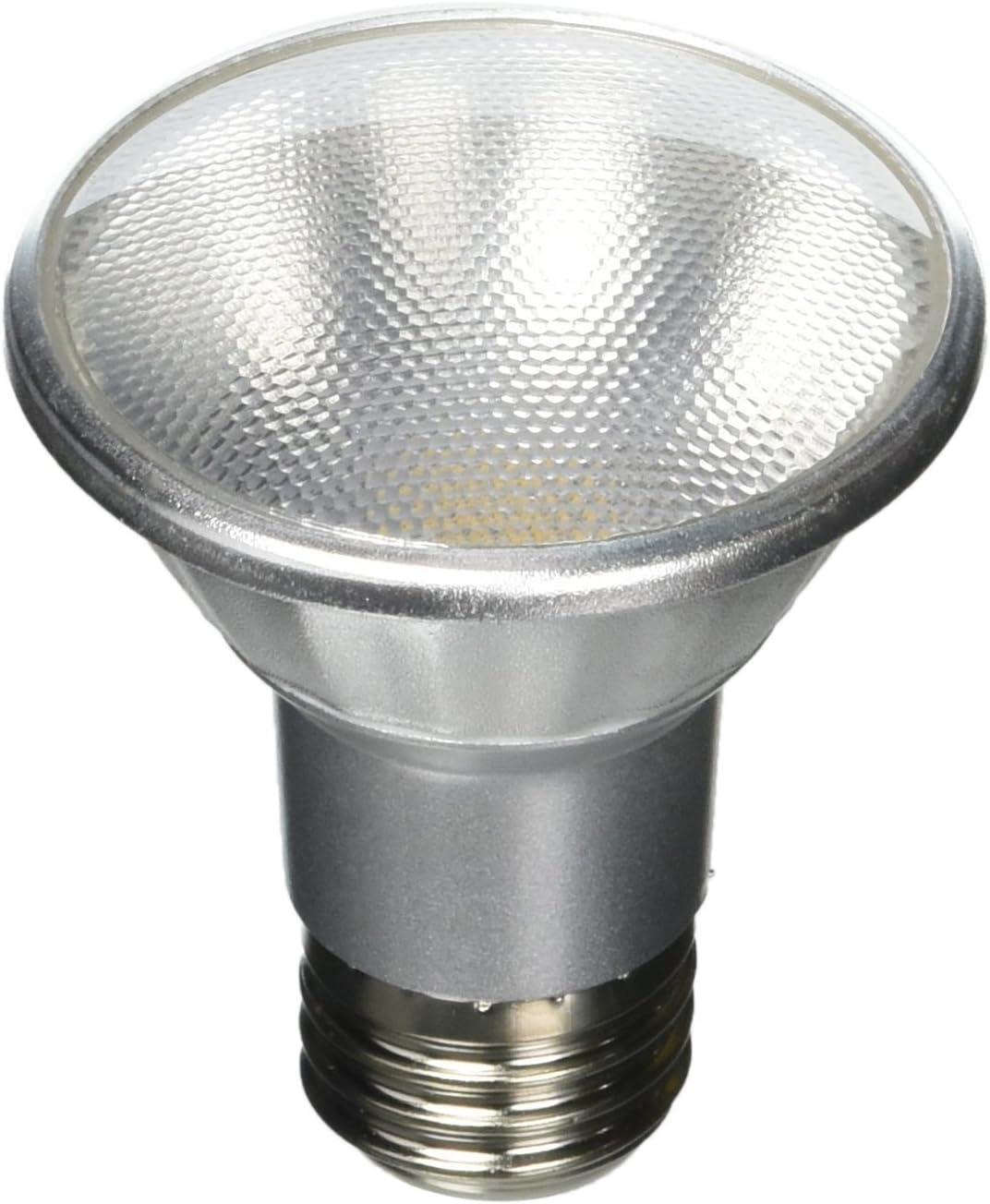 E26 Wet Rated Flood Light Bulb 50 Watt Equivalent 4000K 1-Pack Bulbrite LED Plus PAR20 Dimmable Medium Screw Base