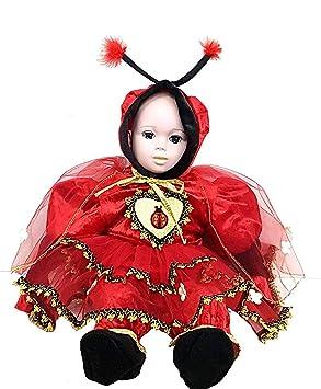 pequeños monelli Traje Mariquita bebé Vestido Ladybug niña bebé ...
