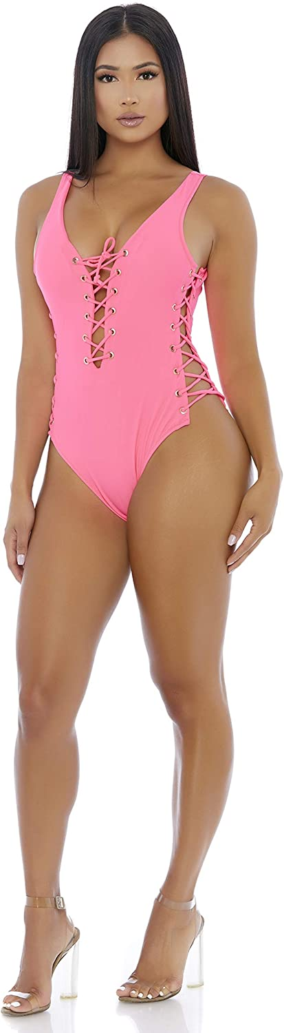 Forplay Womens Mocoa One Piece Swimsuit
