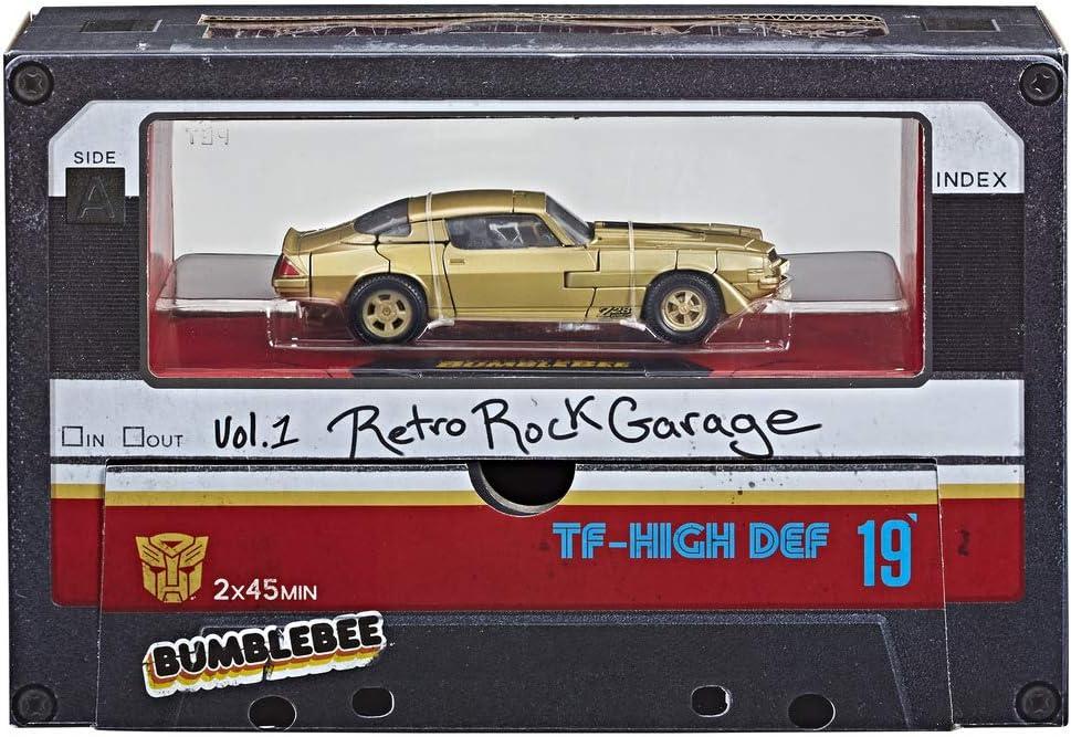 Transformers - Bumblebee Retro Rock Garage (Hasbro E0706E48 ...