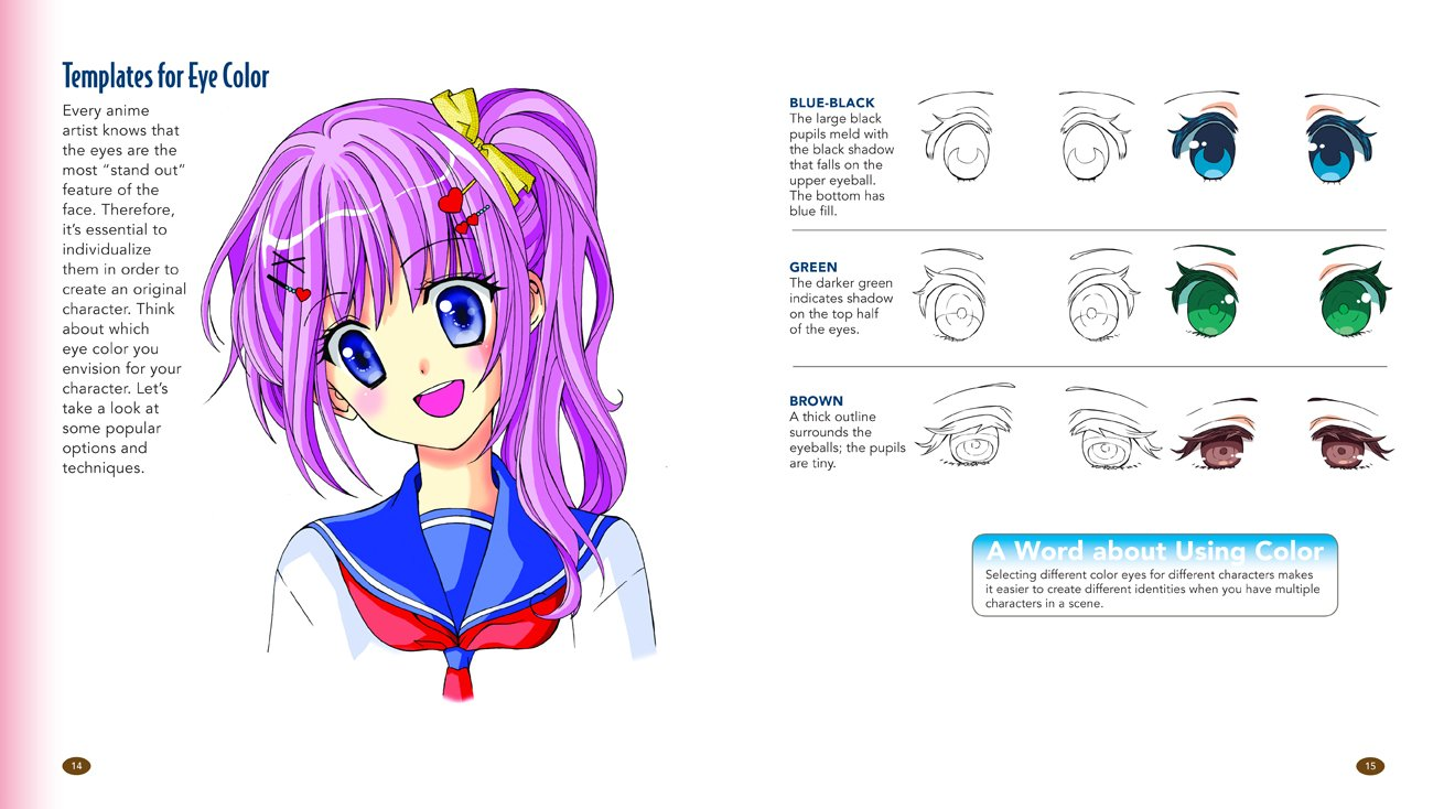 Amazon fr the master guide to drawing anime how to draw original characters from simple templates christopher hart livres