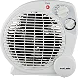 Pelonis hb211t fan forced electric heater 3 power selections home kitchen - Small space heaters energy efficient model ...