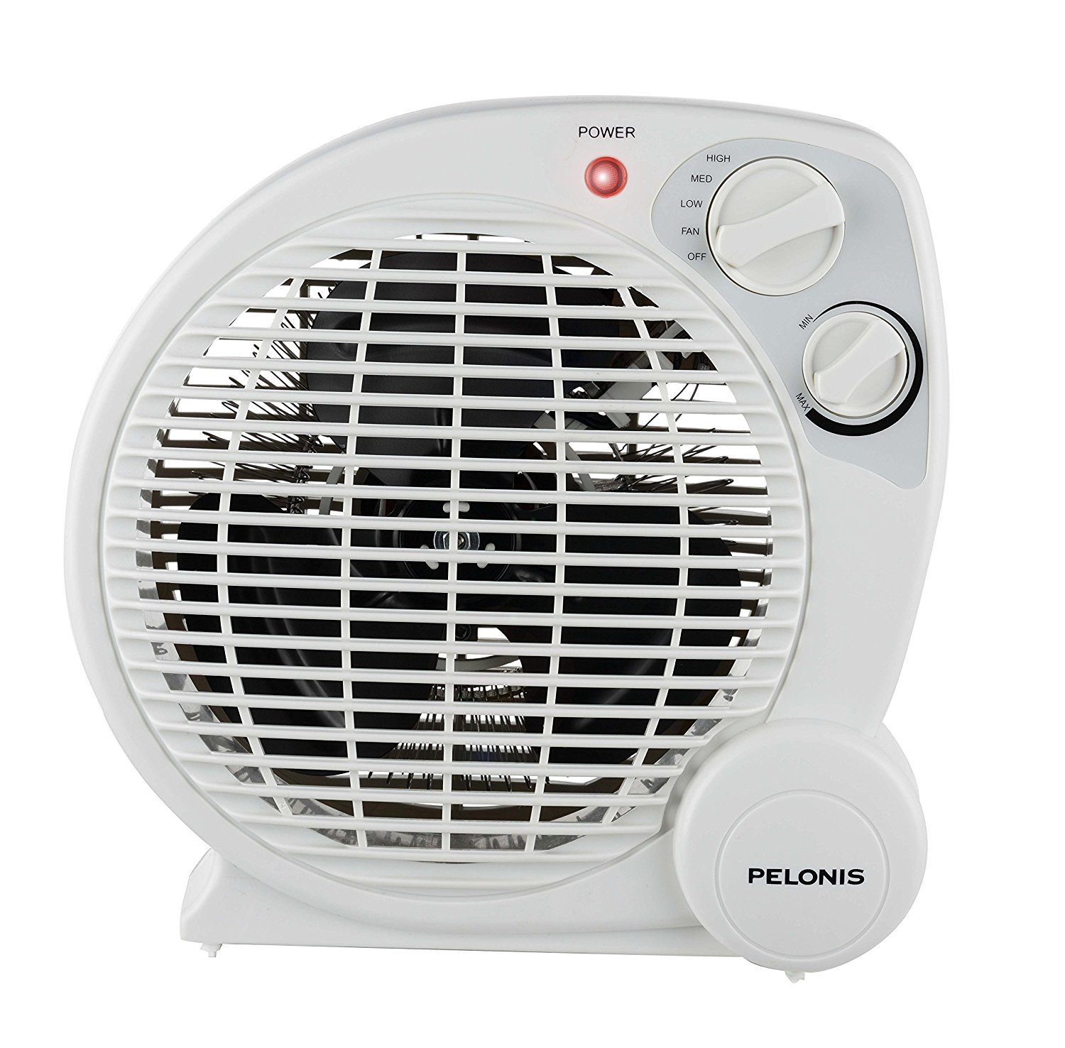 PELONIS HB-211T Portable Space Heater Model with Automatic Safety Shutoff & Energy Efficient Temperature Control 3 Heat Settings (600 W/900 W/1500 W)