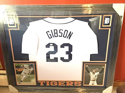 meet 073ce 4b029 Kirk Gibson Autographed Signed And Framed Detroit Tiger ...