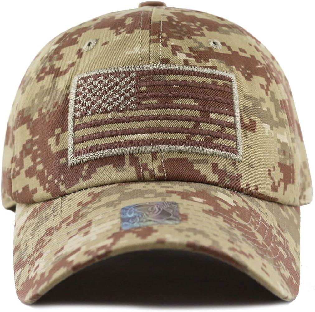 Cap2Shoes Bandera de Estados Unidos Gorra de béisbol Militar ejército Operador Ajustable Gorro - Multi -: Amazon.es: Ropa y accesorios
