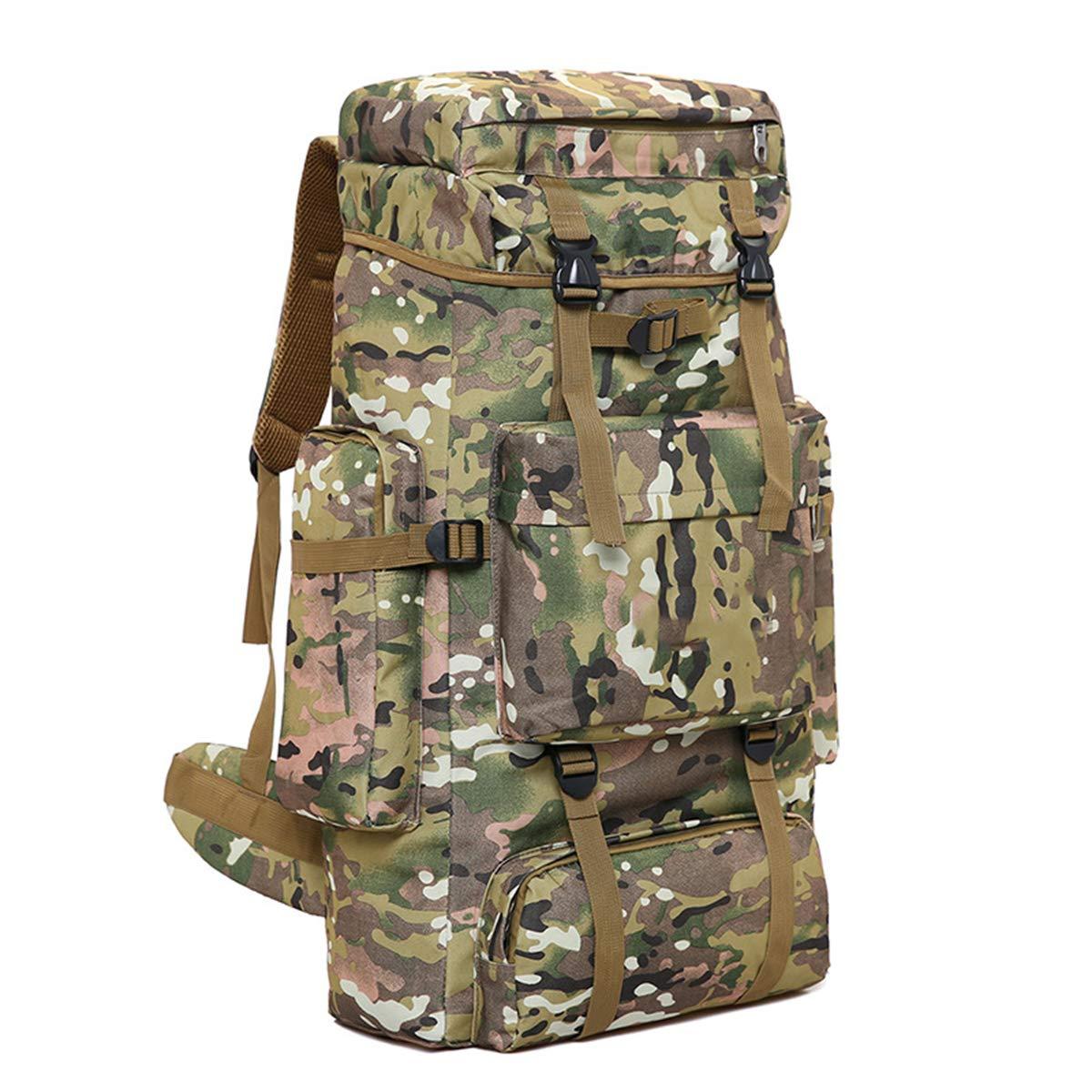 G  Sac D'alpinisme En Plein Air Camouflage Tactique Sac à Dos Grande Capacité Sac à Dos De Voyage portable Léger Sac à Dos De Camping