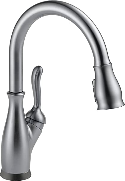 trinsic delta magnatite handle technology docking kitchen pull and single diamond seal improvement home down touch pdp with faucet