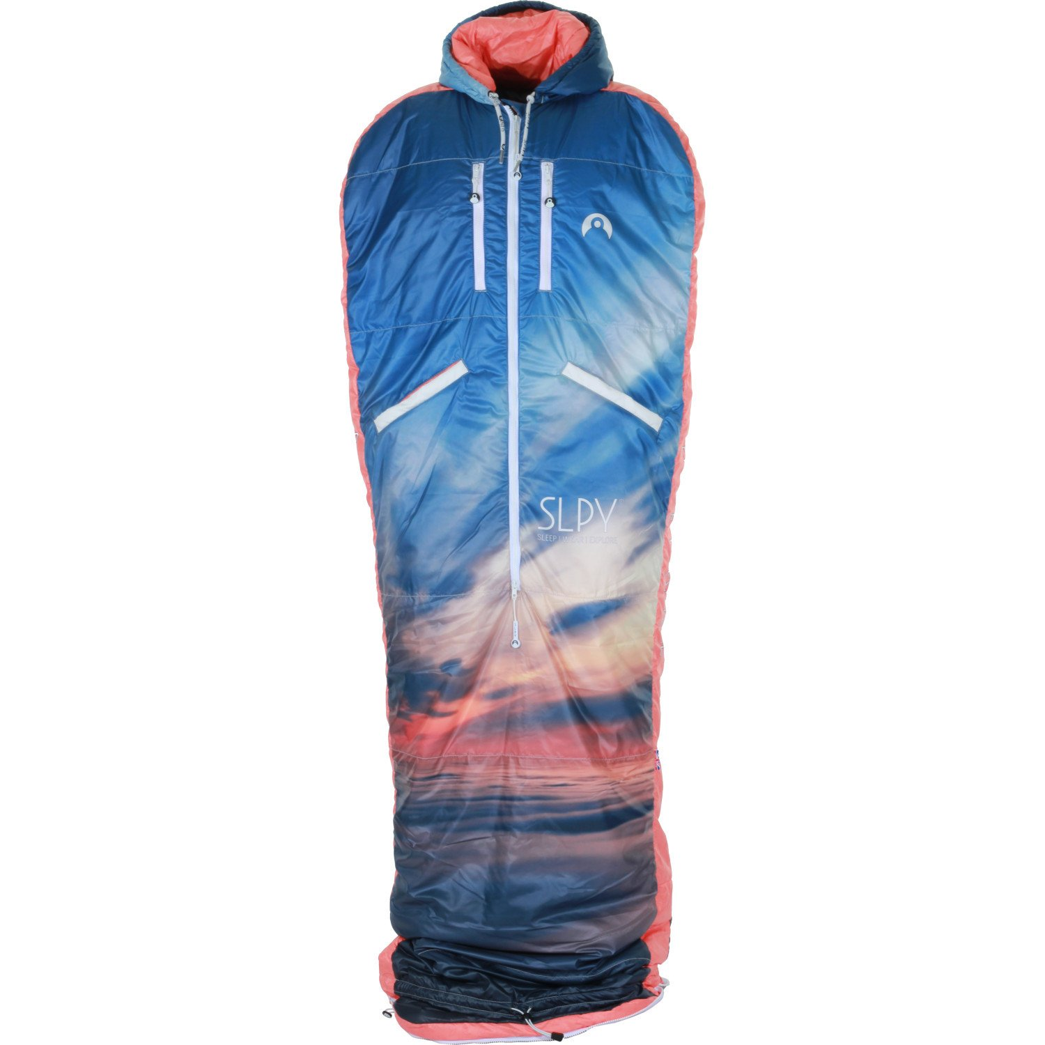 SLPY The新しいウェアラブルSleeping Bag – キッズSleepy X Small Above the Clouds B01IQMXFL4