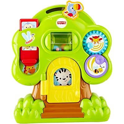 Fisher-Price Animal Friends Discovery Treehouse: Toys & Games