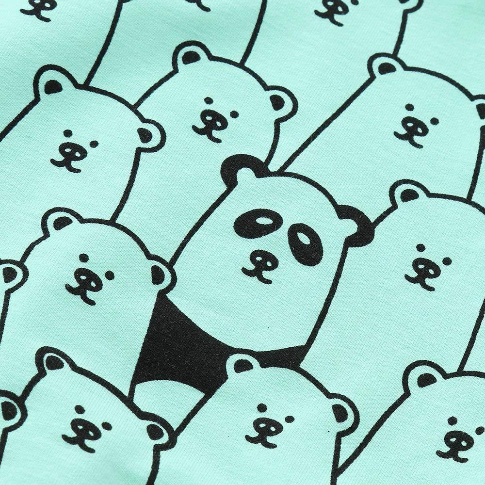 ❤ Conjunto para bebé con Estampado de Oso, Invierno otoño Infant Baby Boys Girls Manga Larga Animal Print Tops + Pants + Hat Outfits Clothes Absolute: ...
