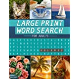 Large Print Word Search Book - Volume 2: Fun and Interesting Variety of Topics