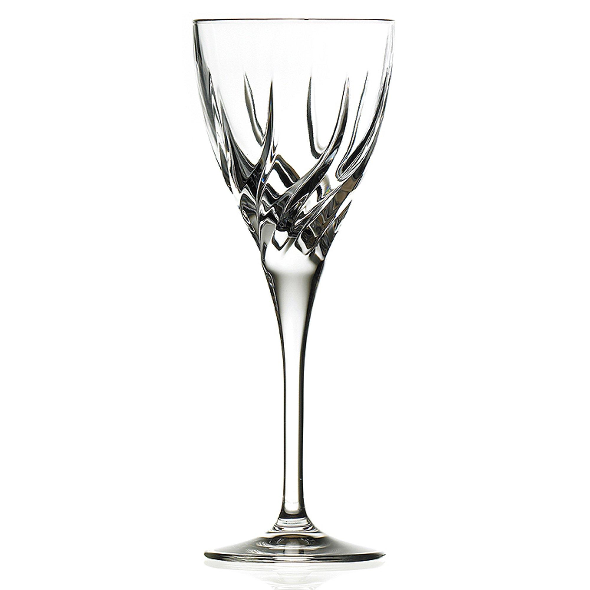 Lorenzo Rcr Crystal Trix Collection Wine Glasses, Set of 6