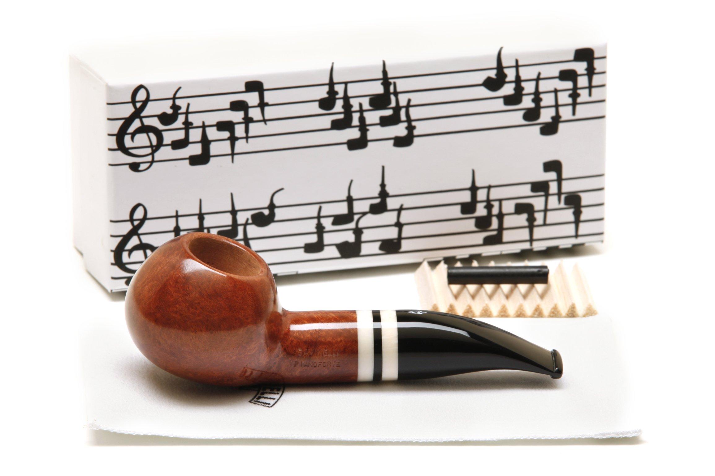 Savinelli Pianoforte 320 KS Smooth Tobacco Pipe