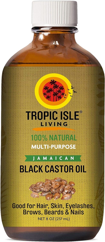 Aceite de ricino negro Jamaican de 240ml