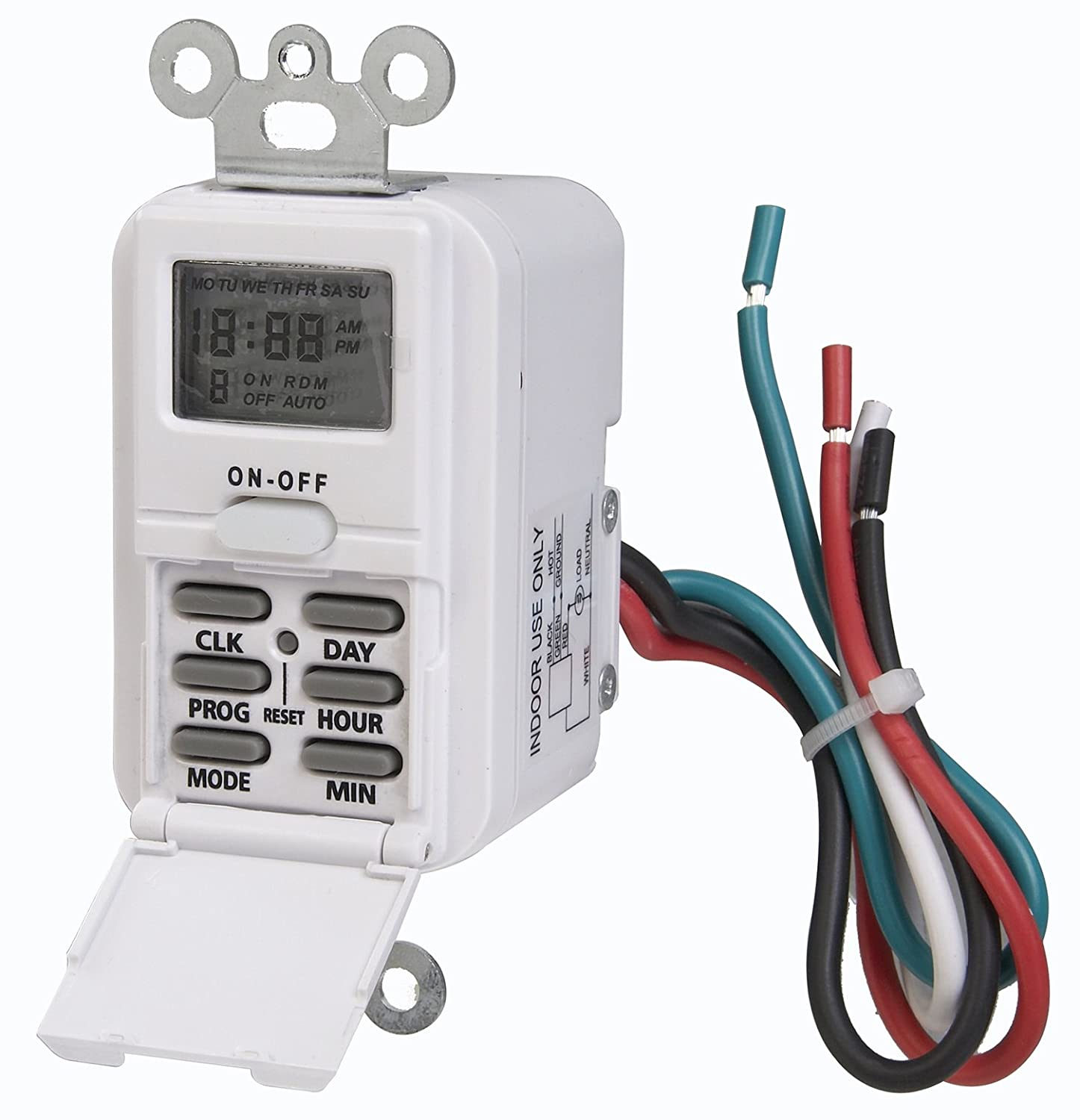 Exelent hard wired light timers motif wiring diagram ideas amertac tmdw10 westek hardwire indoor digital wall switch timer cheapraybanclubmaster Gallery