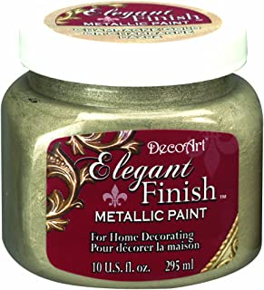 product image for DecoArt DA202-51 Elegant Finish Metallics, 10-Ounce, Champagne Gold