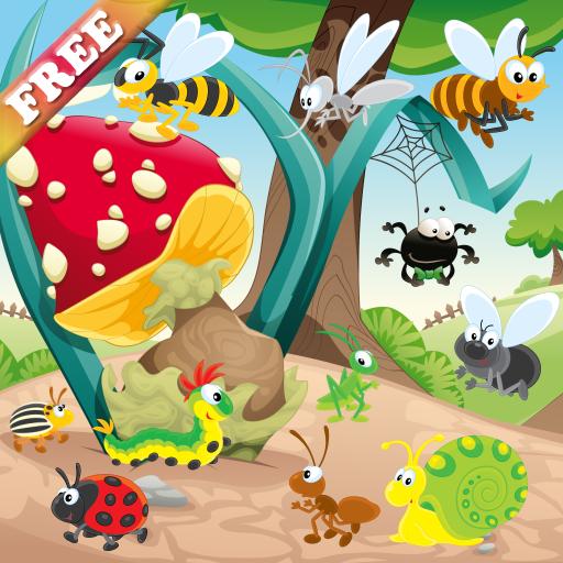 Los Insectos Y Los Gusanos Juego Para Los Ninos Descubrir El Mundo