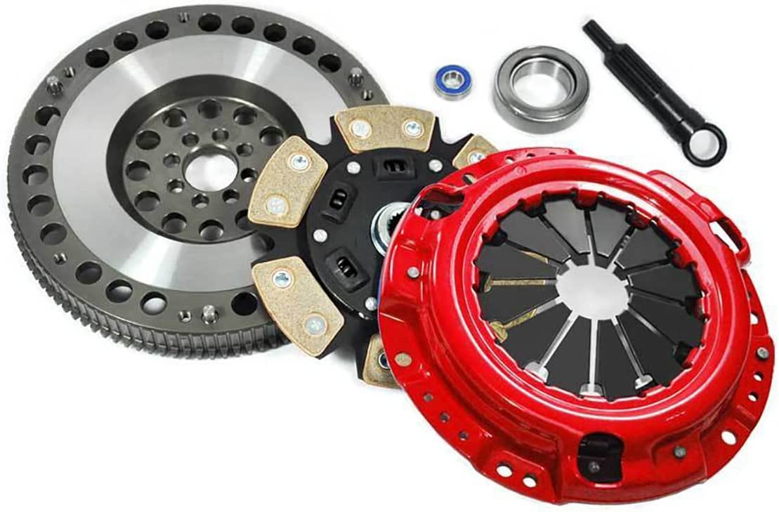 EFT STAGE 3 CLUTCH KIT+CHROMOLY FLYWHEEL FOR 85-87 TOYOTA COROLLA GTS 1.6L AE86 4AGE