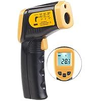 AGT Temperaturmessgerät: Berührungsloses Infrarot-Thermometer m. Laserpointer, -50 bis +550 °C (Infrarot Thermometer mit Laser)
