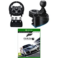 Logitech G920 Driving Force Wheel, Driving Force Shifter & Forza 7 for Xbox One