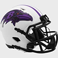$44 » Baltimore Ravens NFL Mini Speed Football Helmet LUNAR ECLIPSE - New in Box
