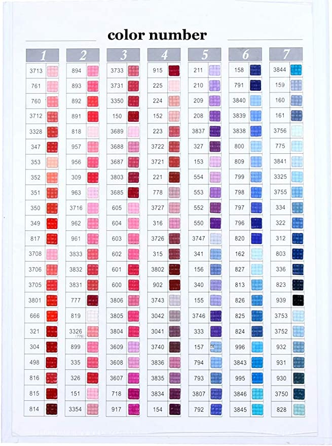 Sales for 1 Bag=200 Pieces 712 Diamonds Square Drill Rhinestone Resin Diamond Painting Accessory 447 Colors Can Choose Color Accessory Wholesale