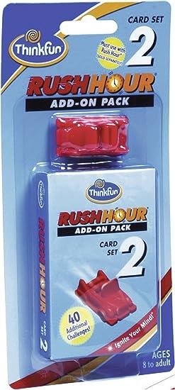 ThinkFun 76333 Rush Hour® 2 - Juego de ampliación de Juguete: Yoshigahara, Nob: Amazon.es: Juguetes y juegos