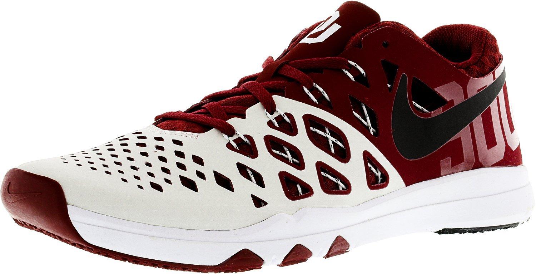 NIKE Men's Train Speed 4 Running Shoe B01N5AWTVQ 10.5 M US Tm Crimson/Black-white