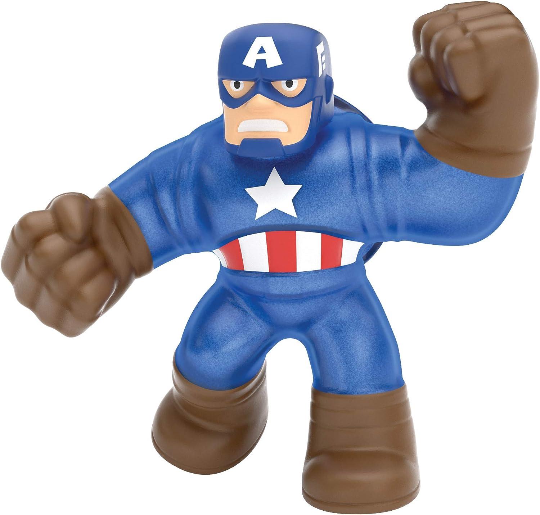 Heroes of Goo Jit Zu Marvel, Action Figure – Captain America