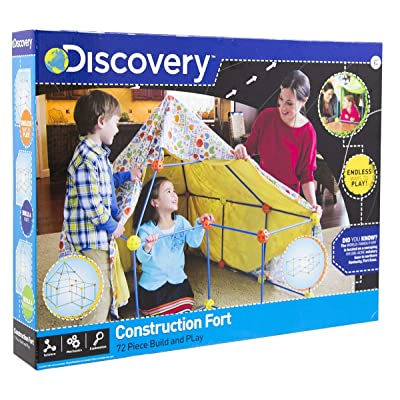 Discovery Construction Fort: Toys & Games