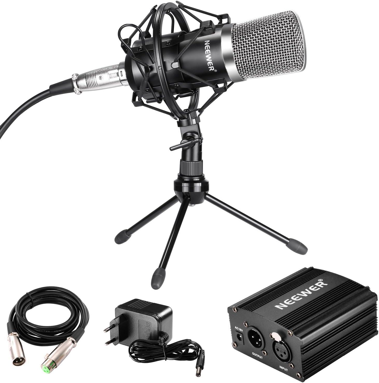 2x Nero Mini Studio Discorso MIC MICROFONO SUPPORTO PER PC DESKTOP NOTEBOOK 3.5mm
