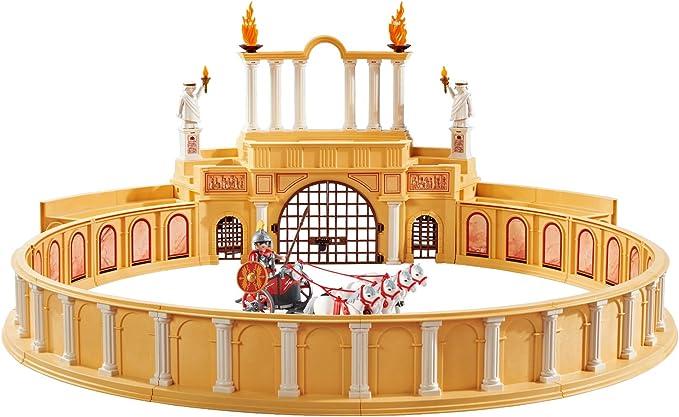 Circo Romano Playmobil con Cuadriga y Guerrero.: Amazon.es: Juguetes y juegos
