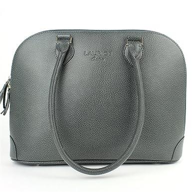 3625326d4f Sac à main New-york cuir Gris Beaubourg: Amazon.fr: Vêtements et accessoires