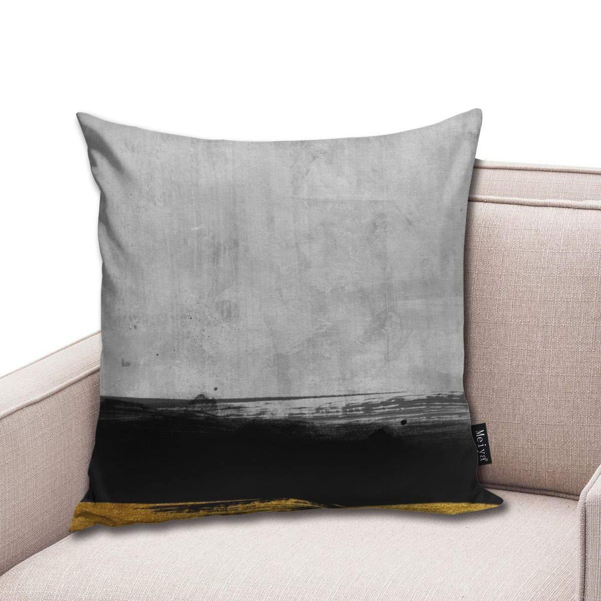 Hat New Funda de cojín de algodón con diseño de Rayas en ...