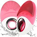 Facial cleansing Brush,Deep Exfoliating Face Brush Cleanser,Best Sonic Waterproof Cleansing Facial Brush&Silicon Face…