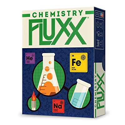 Looney Labs Chemistry Fluxx Game: Toys & Games