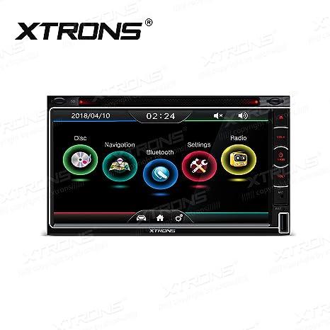 XTRONS - Reproductor de DVD Estéreo para Coche, 2 DIN, 6,95 ...