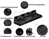 PS4 Universal Controller Charger KINGTOP PS4/PS4