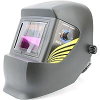 Spargos Oscurecimiento automático soldadura ojos Protección Solar casco corte con Gas Tig soldador Mig con varios…