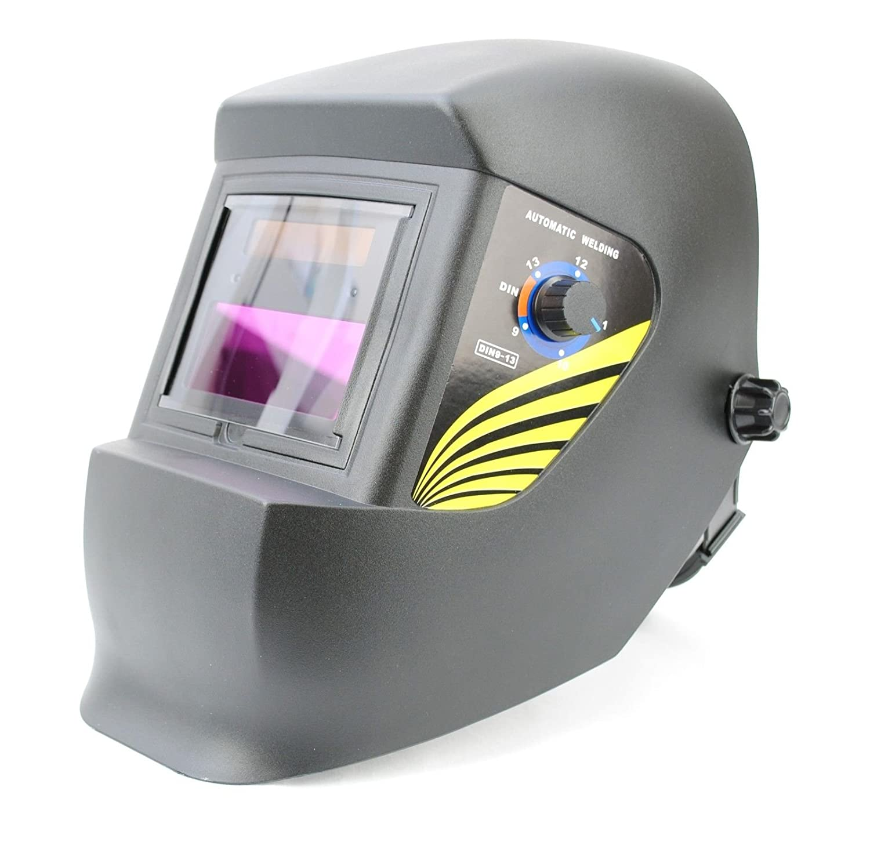 Spargo Casco de soldadura con protección para los ojos y protección solar