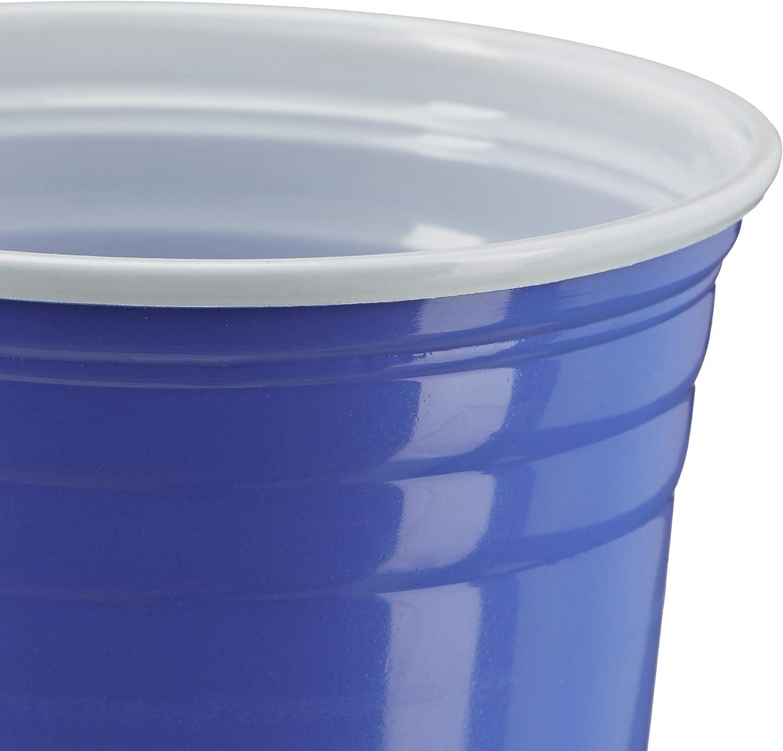 Blu Rosso 200x Set Bicchieri da Beer Pong Party Accessori Feste Gioco Alcolico Bevande 16 oz//473 ml
