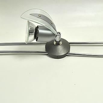 1x Schienen System Lampe Spot Schienensystem Stangen Leuchte Led