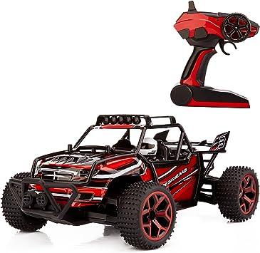 Metakoo RC Coche Electrico 4WD de Velocidad 20km/h Escala 1:18 ...