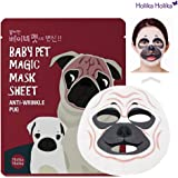 [Holika Holika] Baby Pet Magic Mask Sheet 22ml #Anti-Wrinkle Pug (10 Sheet)