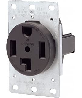 Leviton 5374 50 250 Volt Flush Mounting Receptacle Straight. Leviton 07100278000 4 Wire 30 250 Volt Flush Mount Dryer Receptacle. Wiring. Leviton 220 Dryer Outlet Diagram At Scoala.co