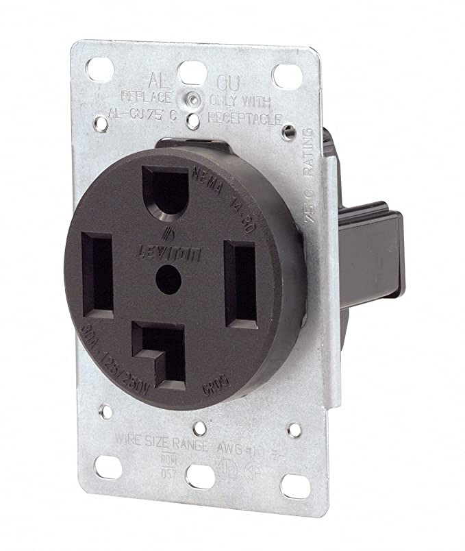 Pleasing Leviton 071 00278 000 4 Wire 30 Amp 250 Volt Flush Mount Dryer Receptacle Wiring 101 Swasaxxcnl
